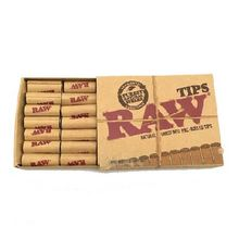 Raw Pre rolled Cone Tips 21 pack